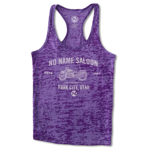 No Name Saloon Motorcycle Tank WOMENS - Purple