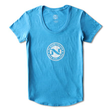 "No Name Saloon ""Everywhere else sucks"" WOMENS T - Blue"