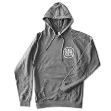 No Name Saloon Iron Cross Hoodie - Heather Grey