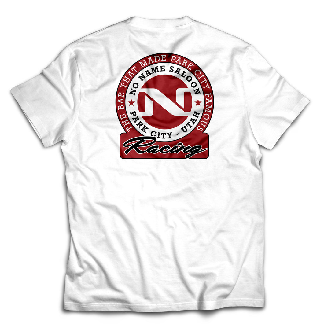 No Name Saloon Racing T - White