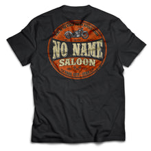 No Name Saloon Orange & Black short sleeve - Black