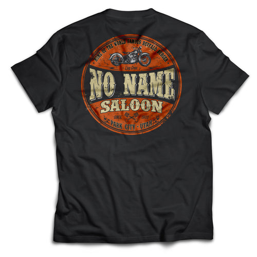 No Name Orange & Black short sleeve - Black
