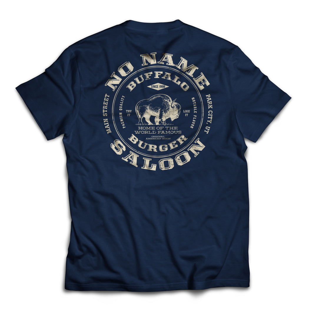 Buffalo Burger T - Navy