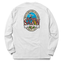 No Name Saloon Classic Logo long sleeve T - White