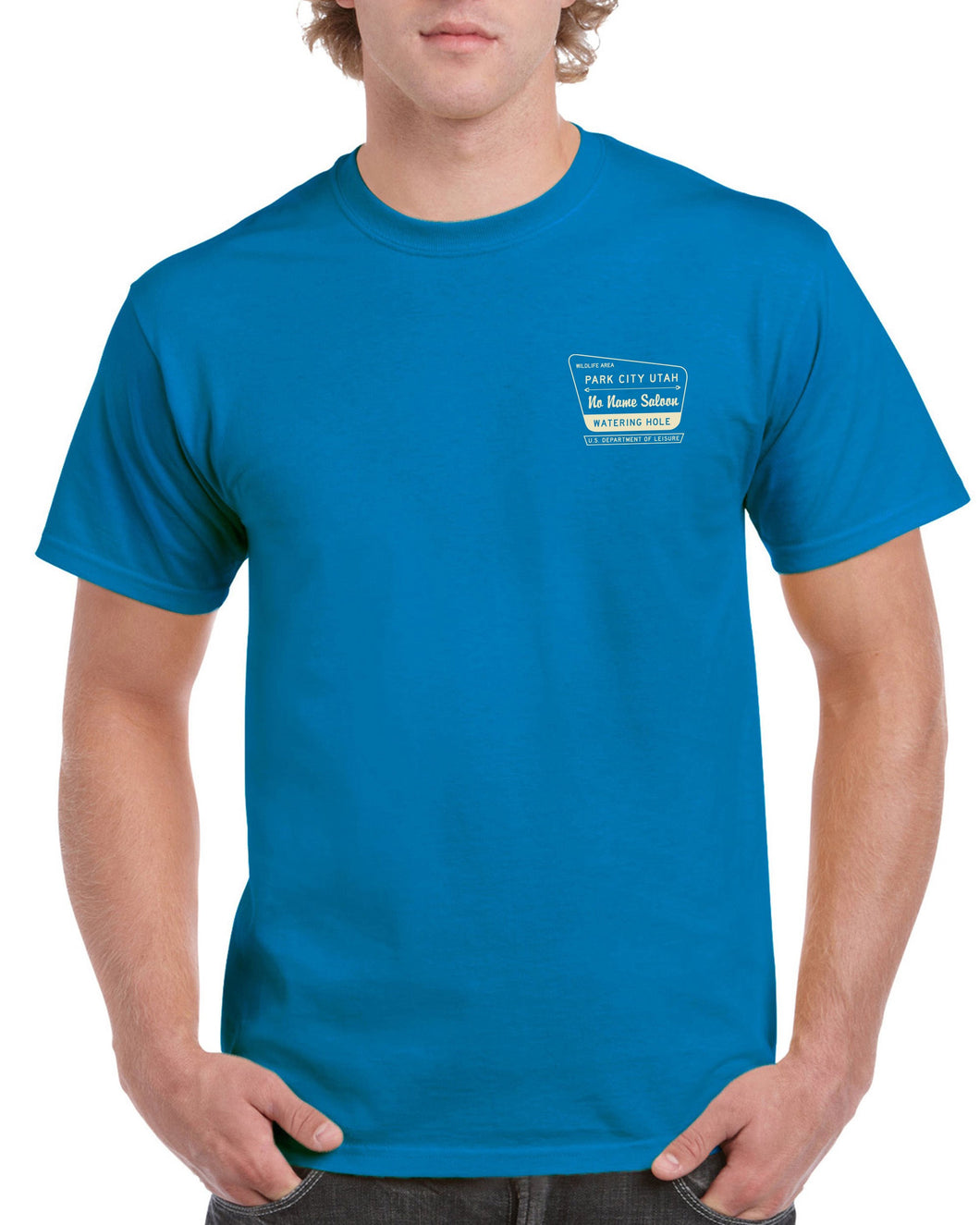 National Forest Gildan T-Shirt - Galapagos Blue