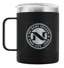 No Name Saloon 14 oz. Powder Coated Campfire Mug Copper Lining