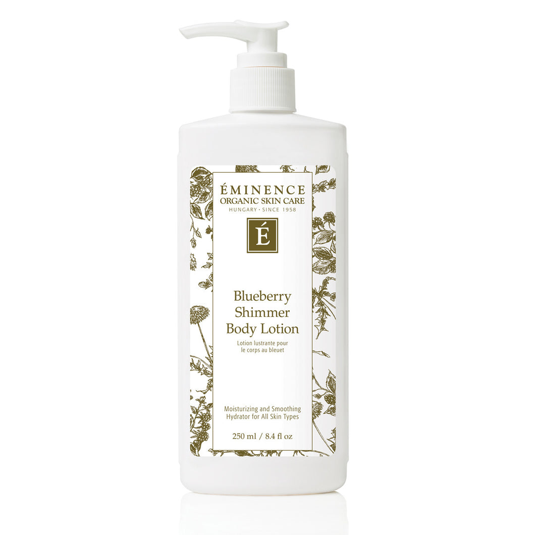 Eminence Organics Blueberry Shimmer Body Lotion