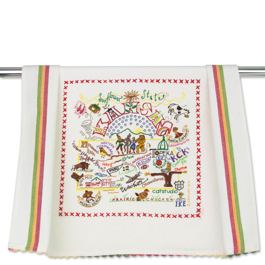 Cat Studio Dish Towel Kansas