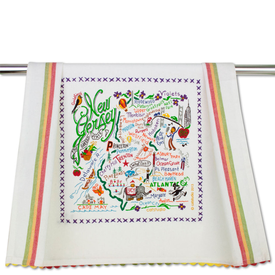 Cat Studio Dish Towel New Jersey