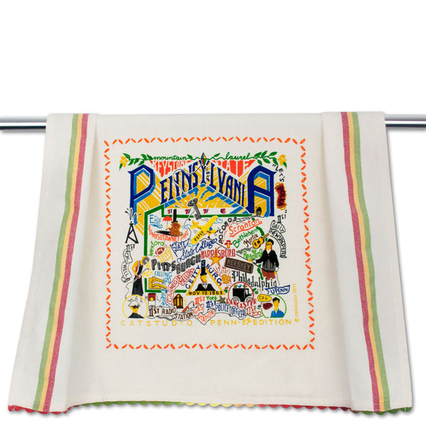 Cat Studio Dish Towel Pennsylvania