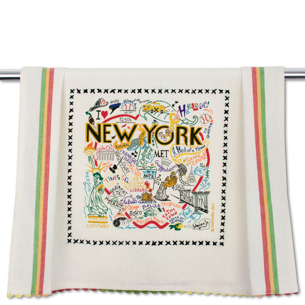 Cat Studio Dish Towel New York City