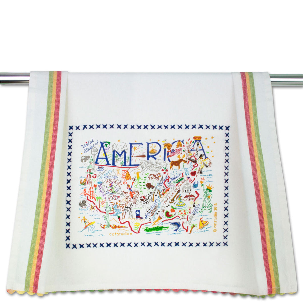 Cat Studio Dish Towel America