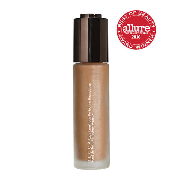 Becca - Aqua Luminous Perfecting Foundation - Deep Bronze
