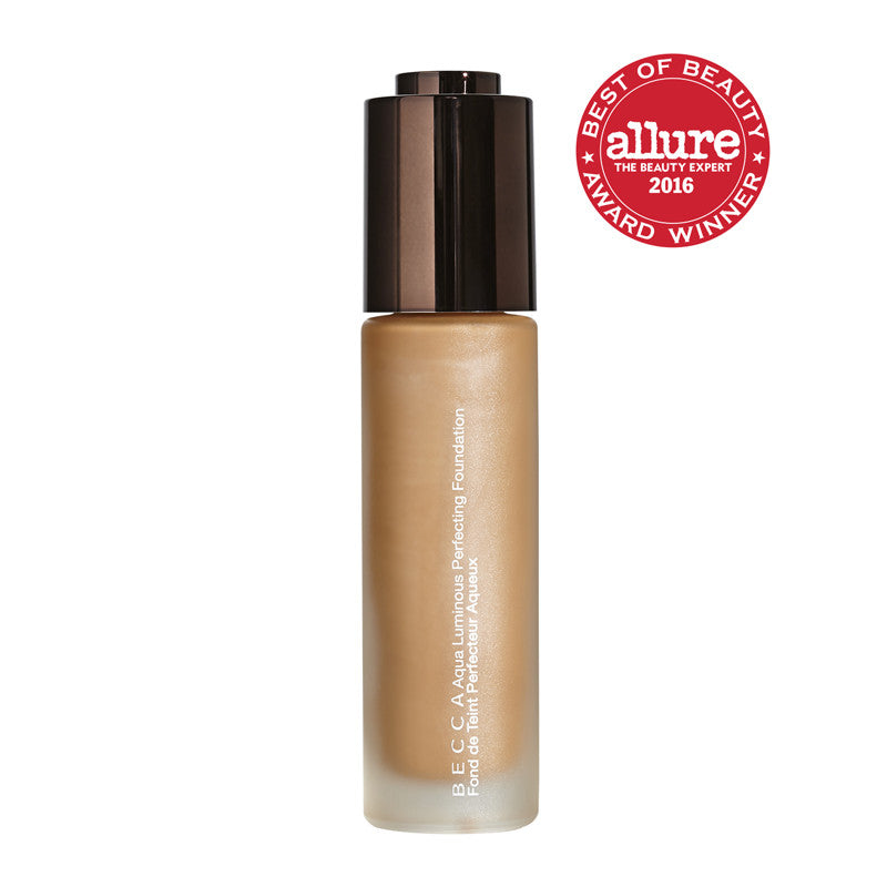 Becca - Aqua Luminous Perfecting Foundation - Warm Honey