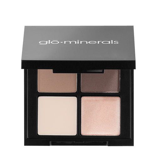 gloMinerals Brow Quad Brown