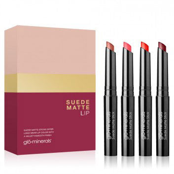 gloMinerals - Suede Matte Stick Lip Set