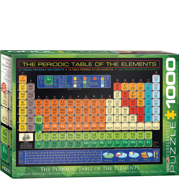Eurographics Periodic Table Puzzle 1000 pcs