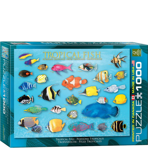 Eurographics Tropical Fish Puzzle 1000 pcs