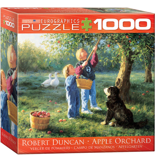 Eurographics Robert Duncan Apple Orchard Puzzle 1000 pcs