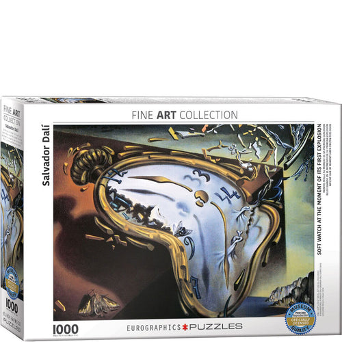 Eurographics Salvador Dali Melting Clock Puzzle 1000 pcs