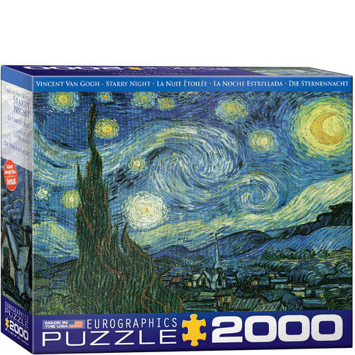 Eurographics Vincent Van Gogh Starry Night Puzzle 2000 pcs