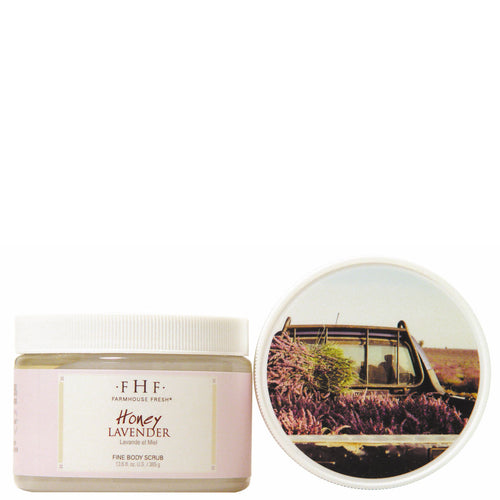Farmhouse Fresh Fine Salt Body Scrub Honey Lavender