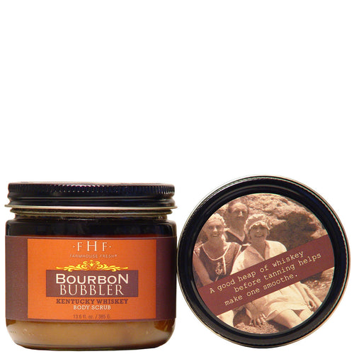 Farmhouse Fresh Bourbon Bubbler Brown Sugar Scrub