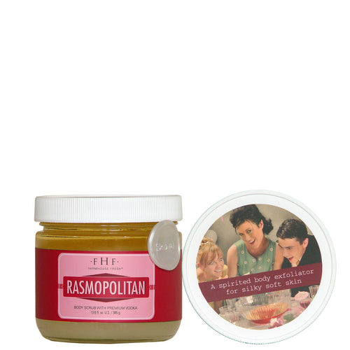 Farmhouse Fresh Rasmopolitan Vodka Sugar Scrub