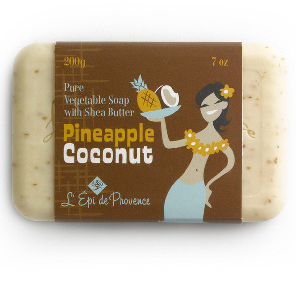 L'epi de Provence Pineapple Coconut Bar Soap