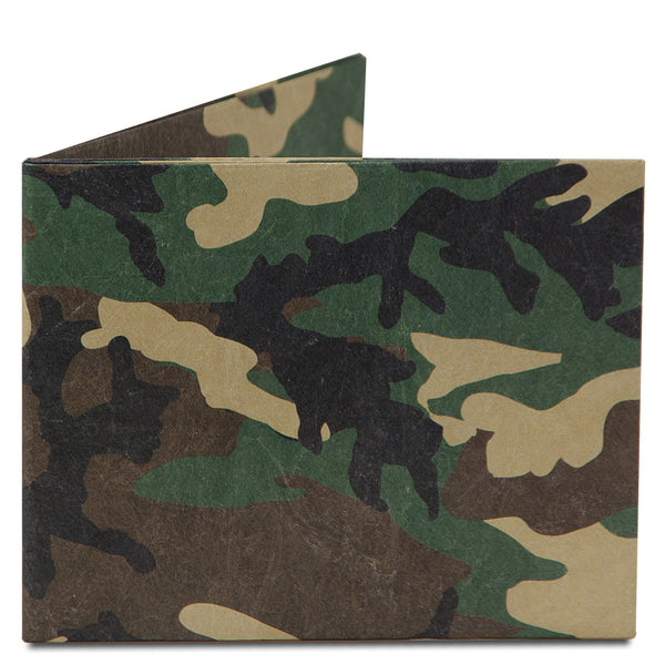 Dynomighty Camo Wallet Front