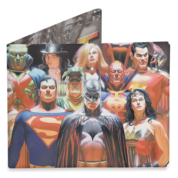 Dynomighty Justice League Wallet Front
