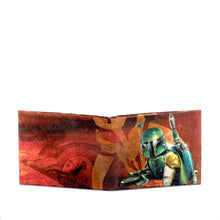 Dynomighty Star Wars Boba Fett Wallet Outside