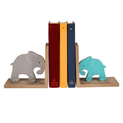 Midwest-CBK Children's Bookends Elephants