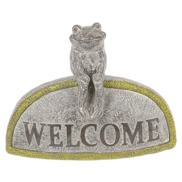 Midwest-CBK Welcome Garden Stone Frog