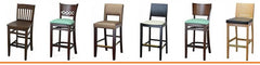 02 Wood Barstools