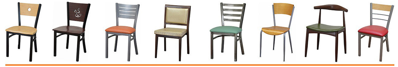 Steel Frame Dining Chairs & Barstools