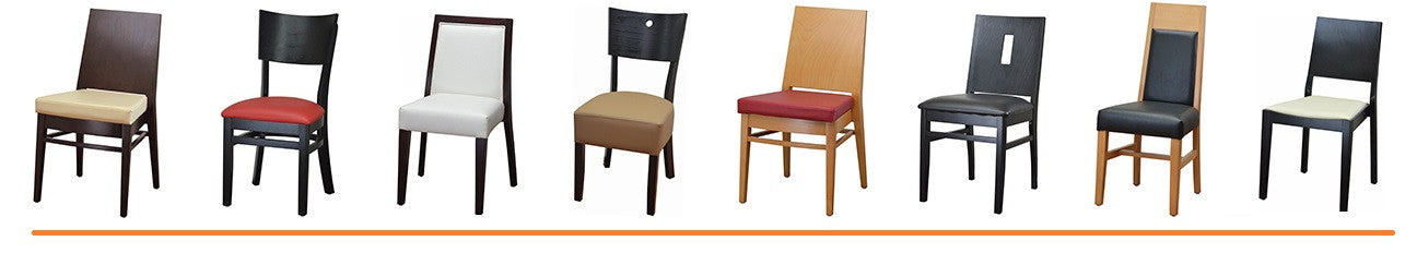 WOOD  CHAIRS  &  BARSTOOLS