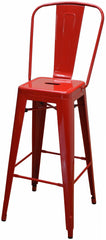 #AB4280B- RED - Absolute Seating -restaurant seating expert
