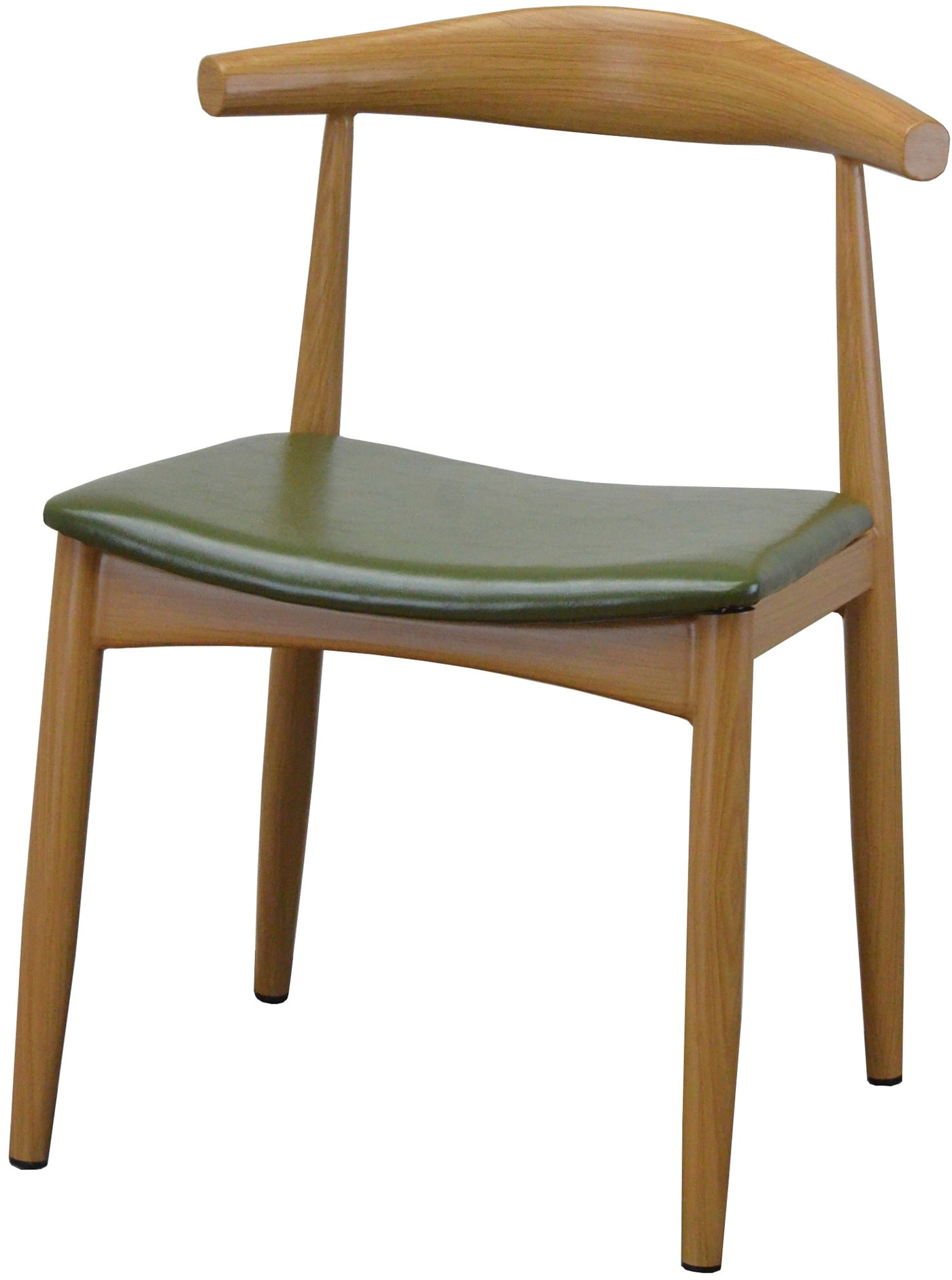 DF3425-Natural Finish Steel Frame Dining Chair – Absolute Seating