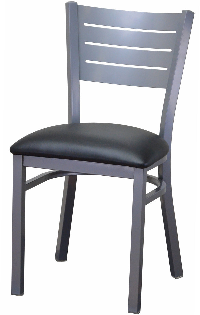 #DF3451-SIL - Absolute Seating -restaurant seating expert