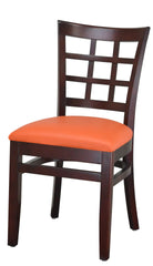 #AB2190- MAHOGANY - Absolute Seating -restaurant seating expert