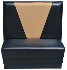 "V-Shape Back $299.00/48""Hx46""L - Absolute Seating -restaurant seating expert"