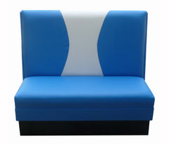 "Hourglass-Back $285.00/36""Hx48""L - Absolute Seating -restaurant seating expert"