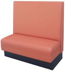 "Plain Back $275.00/36""Hx48""L - Absolute Seating -restaurant seating expert"