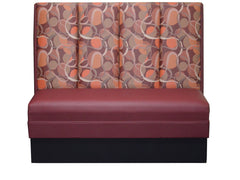 "Four Channel Back $285.00/36""Hx48""L - Absolute Seating -restaurant seating expert"