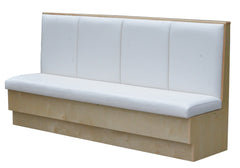 "Wide Channel Laminated Frame $450.00/36""Hx48""L - Absolute Seating -restaurant seating expert"