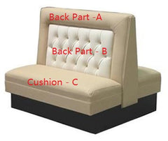 "Diamond Back Photo Frame Single  $490.00/42""Hx48""L - Absolute Seating -restaurant seating expert"