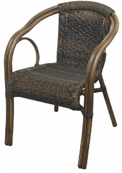 #AB6038 BAMBOO CHAIR