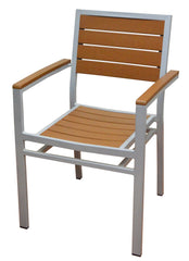 #AB6351-TEAK - Absolute Seating -restaurant seating expert