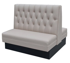 "Diamond Back  $850.00/36""H x 48""L - Absolute Seating -restaurant seating expert"